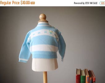 ON SALE 1960s Soft Spring Sweater, size 6 months