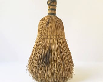 hand Sweeper Small Broom Fireplace sweeper handheld broom Rustic Decor Fixer Upper Decor