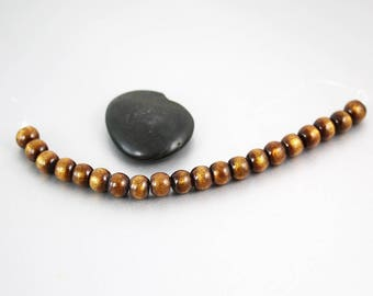 Reserved for Bodhi Golden Coral Rondelle Beads - Set of 20 - Coral Beads - 8mm