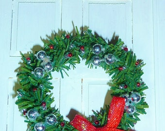 "1"" Christmas Wreath #5"