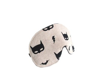 eyemask batman mask canvas adjustable