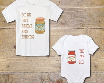 Big Brother Little Sister Shirts, New Big Sister Shirt, Baby Shower Gift, Silbling Shirt, Peanut Butter and Jelly, New Big Brother Shirt