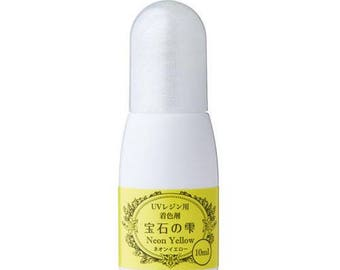 218465 Padico neon yellow liquid coloring for UV Resin from Japan