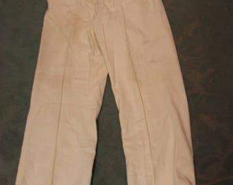 Men's Corduroy Pants w/ Buckles & Wide Legs, Victorian Look, Antique Steampunk 1890s-1920s Clothing