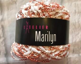 L'Atelier Marilyn Yarn 75 Yards New