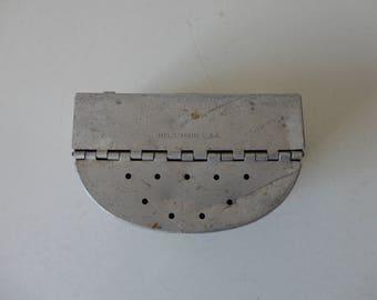 VINTAGE aluminum BELTLINE BAITBOX