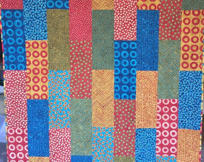 A Good Day to Curl Up With a Book 54x72 inch lap quilt