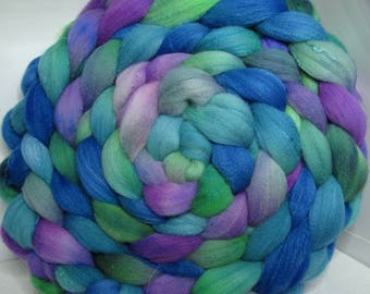 Sale Rambouillet/Bombyx 60/40 Roving Combed Top - 5oz - Stranglethorn 3
