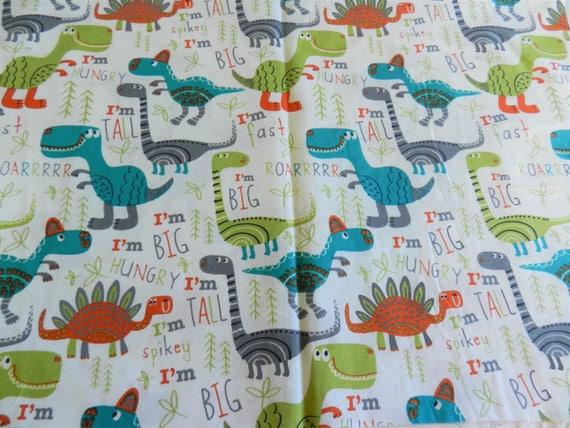 Kids dinosaur fabric dinosaur fabric kids cotton fabric for Kids dinosaur fabric