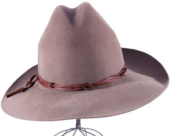 Cowboy Hat Boho Hat Western Hat Men's Hat Women's Hat Cattleman Crease Rodeo Hat Packable Hat Crushable Hat  Spring Accessories Spring Hat