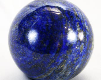Lapis Lazuli 42.5mm Natural Medium-Sized Sphere - Top Quality