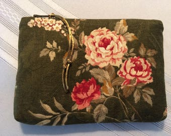 Zipper purse - vintage