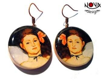 * Earrings * Edouard Manet: Olympia