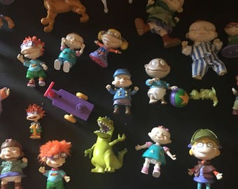Sale sale -Lot of 28 Nickelodeon RUGRATS toy lot- excellent condition - 1990s