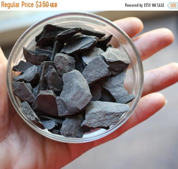 Save 15% Slate for paths-Larger 1/3 cup bag for walkways-fairy roads and more-Over 4 Oz Bag of assorted pieces of Slate Stone