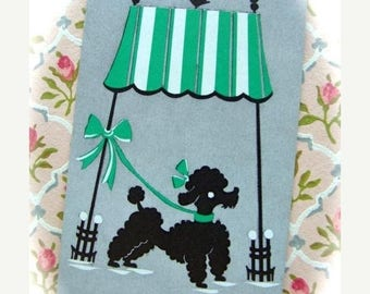 ONSALE Vintage Poodle Chipper Playing Cards