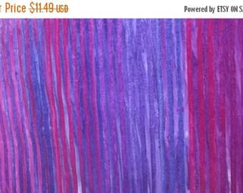 SALE Purple Batik Fabric - Elementals - Robert Kaufman
