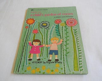 A Golden Book Selections From A Child's Garden Of Verses By Robert  Louis Stevenson 1975