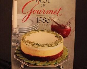 super sale The Best Gourmet 1986 cook book