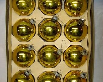 Vintage Large Christmas Ornaments - Balls