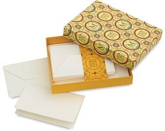 "Medioevalis Set of 20 single cards & envelopes 4.5"" x 6.7"""