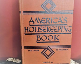 America's Housekeeping Book 1941 collectible