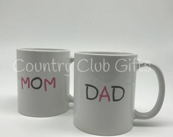 Personalized Baby Gift,  birth stat mugs, Add on for Embroider Buddy orders, Mugs ONLY