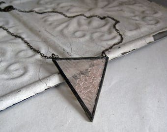 Vintage Lace Necklace One of a Kind Jewelry