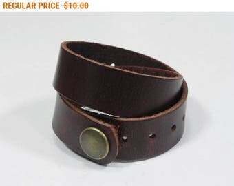 Brown Leather Wrap Bracelet Leather Cuff Leather Bracelet