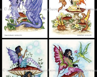 SPECIAL 5x7 Faeries SET by Amy Brown