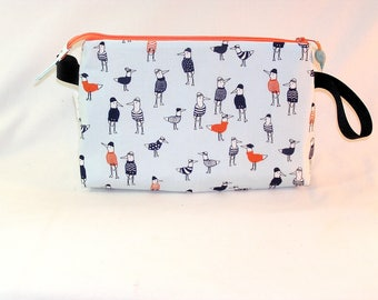 Seagulls in Sweaters Tall Mia Bag