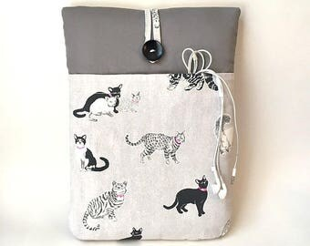"Cat Laptop Case, Cat Laptop Bag,  Custom Sleeve 10, 11, 12, 13, 14, 15, 16, 17  "" Cover Asus, Dell, HP, Lenovo, Microsoft, Samsung, Sony Sac"