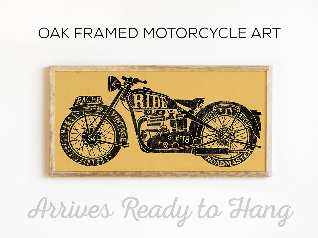 Fantastic Motorcycle Wall Decor Photos - The Wall Art Decorations ...