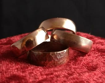 Copper Band Ring - Promise Ring