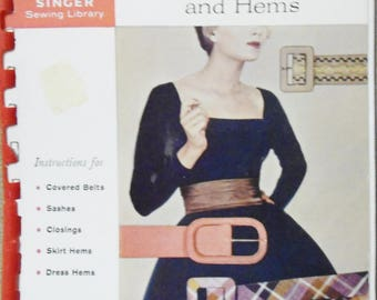 Vintage How to Make Belts and Hems Spiral-bound – 1960