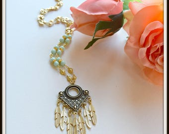 Feathery Necklace