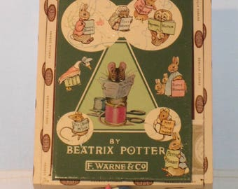 Beatrix Potter Tailor of Gloucester Treasure Box