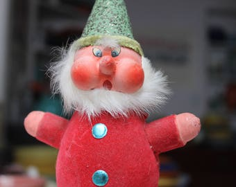 Western Germany Candy Container Paper Mache Christmas Decoration Santa Elf VINTAGE by Plantdreaming