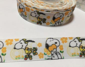 3 Yards of Ribbon - Snoopy and a Girl Snoopy