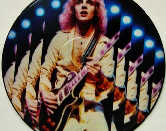 """PETER FRAMPTON """"Frampton Comes Alive!"""" Picture Disc Original U.S. Release 1978 Limited Edition Signed Vinyl Excellent Unplayed Record"""