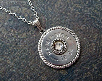 Silver Bullet Necklace - B130