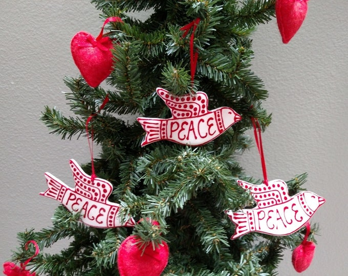 Featured listing image: Peace Dove Ornament-Shipping included