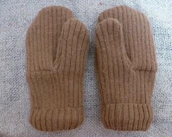 Wool Sweater Mittens