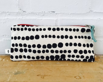 Black Hilary Pencil Case