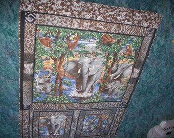 "Elephant child""s quilt"