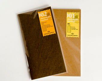 Traveler's Notebook Refill - B6 Slim- 001 Lined - Midori
