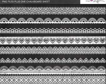 65%OFF SALE Lace chalkboard borders, digital lace, digital lace borders, lace clipart, chalkboard clipart, border clipart, chalkboard paper,