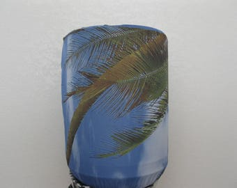 Palms Tree White and Blue Sky-Home Decor Bottle Cover- for 5 Gallon Bottle Standard Size