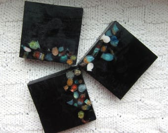 Black & Jewels Glycerin Soap with shipping included in the Continental US