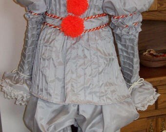 2017 Stephen King Pennywise It NEW 2017 costume version, custom made to fit YOU